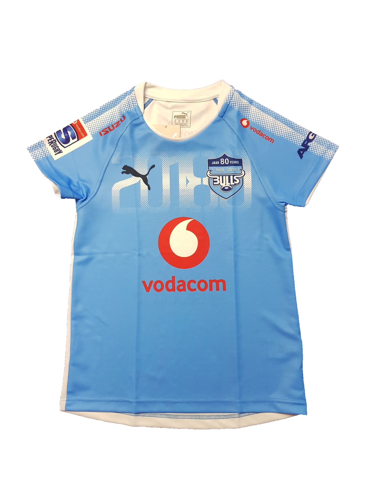 f6fcb1ae071 Supporters Gear - Jersey Womens Bulls Super Rugby 2018 - M for sale ...